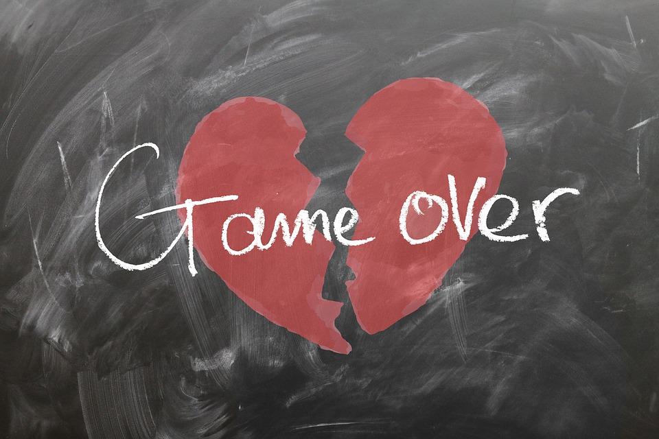 gave over - broken heart