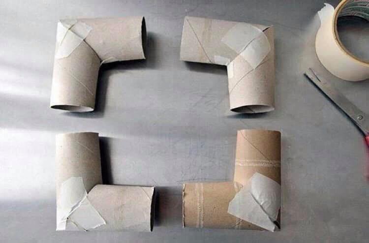 toilet paper photo frame