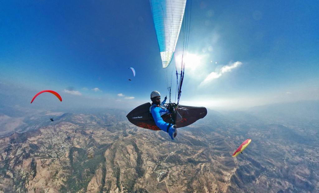 paragliding skills