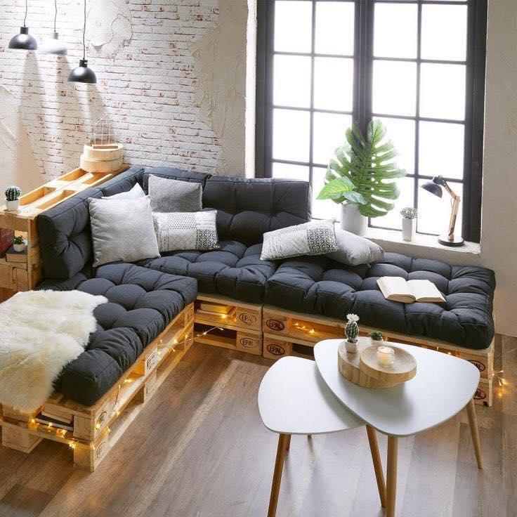 chic pallet sofa