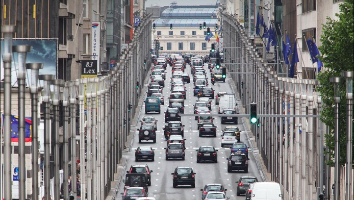 The worst traffic in all Europe.