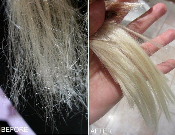 fix damaged hair