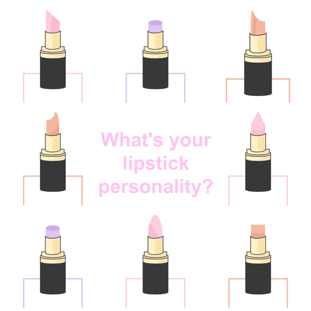 lipstick reveals your personality