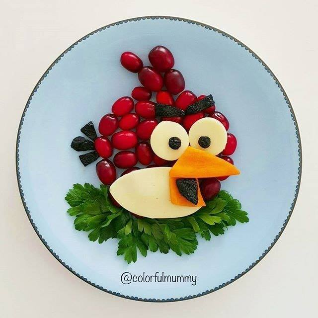 make angry bird