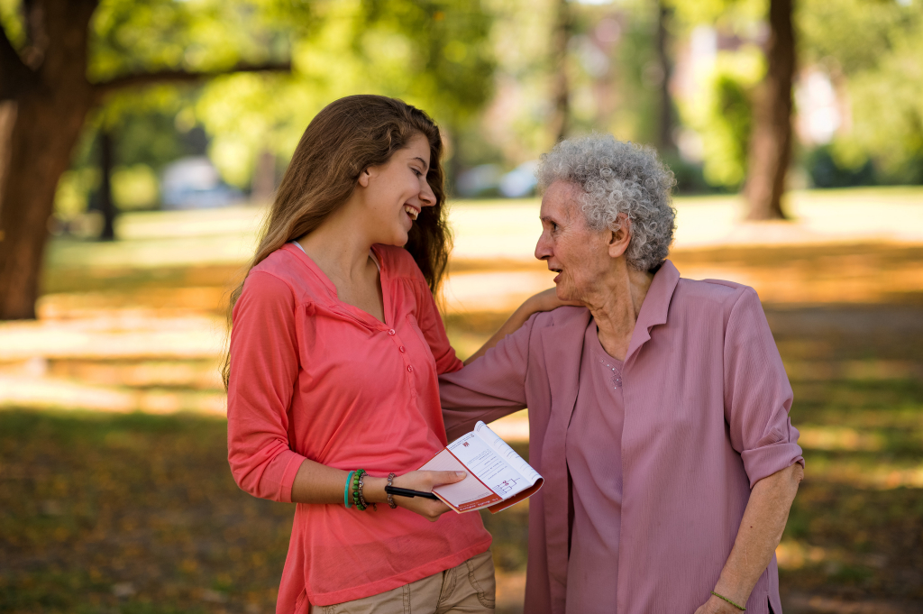 treating elderly people with respect