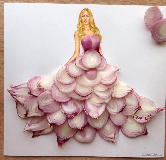 onion dress