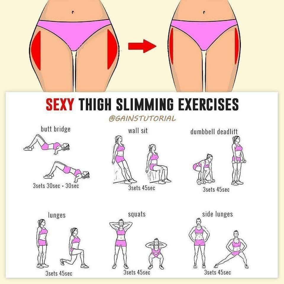 sexy thigh slimming exercises