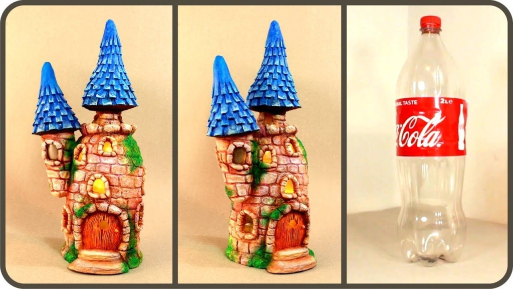 bottle fairy house